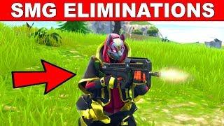SMG Eliminations - FORTNITE WEEK 7 CHALLENGES SEASON 5