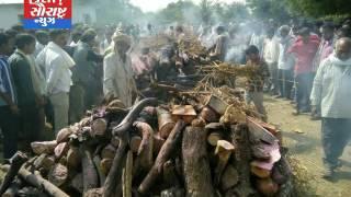 સોખડામાં સકસ્માતમાં મૃત્યુ પામનાર 14વ્યક્તિના એકી સાથે અંતિમ સંસ્કાર