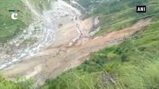 Srinagar-Jammu National Highway closed after massive landslide