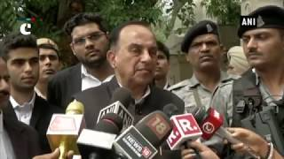 National Herald case: Subramanian Swamy records statement before court