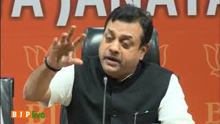 Rahul Gandhi must clarify why he has such hatred against democracy and PM Modi: Dr. Sambit Patra