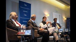 Congress President Rahul Gandhi speaks at the International Institute of Strategic Studies