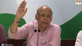 AICC Press Briefing By Abhishek Singhvi