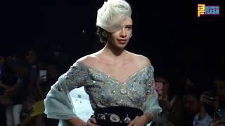 Kalki Kochelin Walking The Ramp In Pricess Look - Lakme Fashion Week 2018 - Day 5
