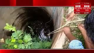 [ Bhander ] भाण्डेर के जी रोड पर स्थित 60 से 70फुट गहरे कुऐ मे गिरा युवक / THE NEWS INDIA