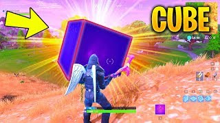 FORTNTIE CUBE MOVING EXPLAINED : CUBE EVENT THEORIES AND SUPER POWERS