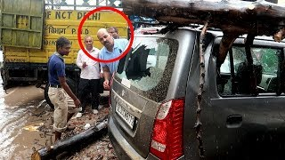 My Dad's New Car Accident | *Shocking*