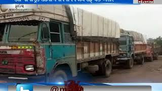truck strike still continues in Ahmedabad