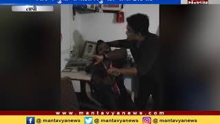 youngman beat up Bjp youth leader due t mlestation of girl in Tapi