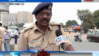 oppose of traffic police near karnavati club in Ahmedabad