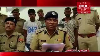 उन्नाव बांगरमऊ थाना क्षेत्र अंतर्गत बेहटा मुजावर चौकी में पकड़ी गई लाखों की अवैध शराब THE NEWS INDIA