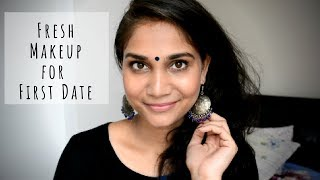 Fresh Makeup for First Meeting/Date with To Be Husband |Chatty Everyday Natural Makeup for beginners