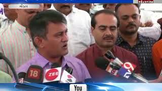 second day of paresh dhanani's fasting reagarding peanuts scam Gondal