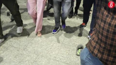 Anushka Sharma & Varun Dhawan Spotted At The Airport Post 'Sui Dhaaga' Promotions!