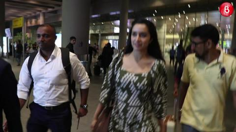 Shraddha Kapoor Keeps Her Airport Look Chic | Airport Diaries
