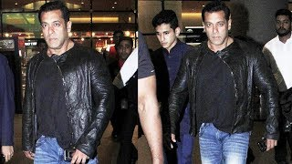 Salman Khan RETURNS To Mumbai After Wrapping BHARAT Malta Shoot, NEXT Shoot In Abu Dhabi