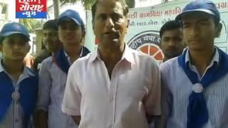 માધવપુર-સ્કૂલમાં બ્લડ ડોનેશન કેમ્પ યોજાયો