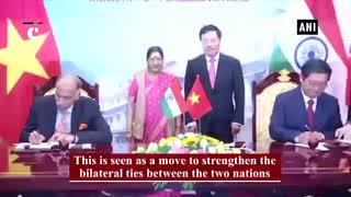 India, Vietnam sign MoUs in Hanoi