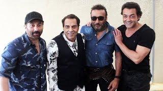 Dharmendra, Sunny Deol & Bobby Deol Spotted At Novetal | Yamla Pagla Deewana: Phir Se Promotion