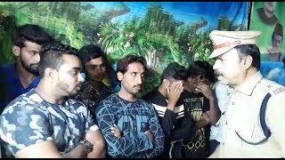 13 Rowdy Shetters Taken Under Custody In Old City In Cardon Search At Bhavani Nagar .