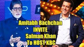 Salman Khan Want To Host Kaun Banega Crorepati, Amitabh Bachchan REACTION
