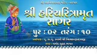 Haricharitramrut Sagar Katha Audio Book Pur 2 Tarang 10