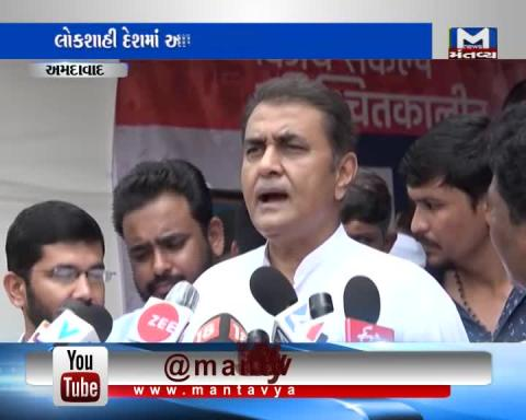 Praful Patel supports Hardik Patel in his indifinite Hunger Strike