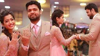 Geetha Govindam Heroine Rashmika Mandanna Engagement Photos | Rashmika Mandanna fiance  Daily Poster