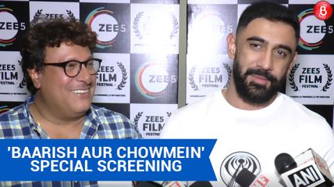 Amit Sadh On Tigmanshu Dhulia At 'Baarish Aur Chowmein' Special Screening!
