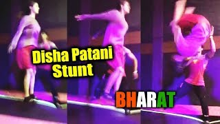 (Video) Disha Patani DANGEROUS Stunt For Salman Khan's Bharat