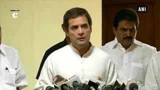 BJP has centralised, Congress has decentralised vision: Rahul Gandhi