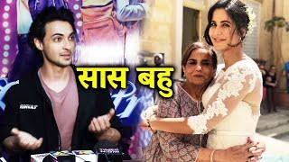 Aayush Sharma Comments On Salman's Mother & Katrina Kaif Saas Bahu Pic
