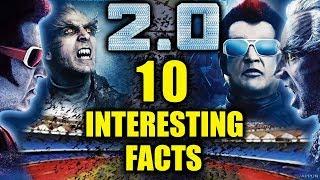 TOP 10 Interesting Facts About ROBOT 2.0 | Akshay Kumar | Rajnikanth