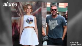 fame hollywood Whats with Jennifer Lawrence and Chris Martin