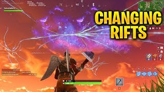 Fortnite Rift Shrinking Event - RIFT IS GROWING AND CHANGING - ROAD TRIP EVENT FORTNITE SEASON 5