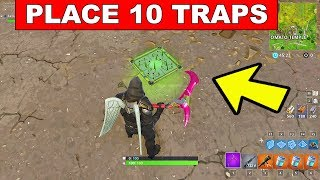 Place Traps X10 FORTNITE CHALLENGE - FORTNITE WEEK 8 CHALLENGES SEASON 5