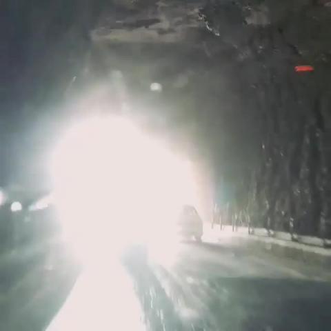Crossing Kangra Tunnel On Kangra - Chandigarh Highway