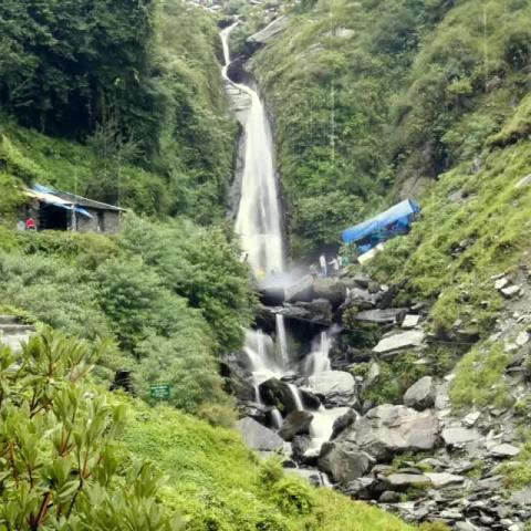 Bhagsu Waterfalls - Dharamshala