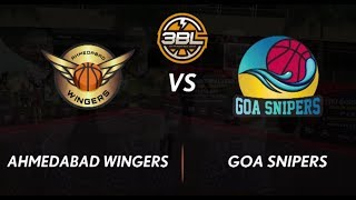 3BL Season 1 Round 5(Bangalore) - Full Game - Day 1 - Ahmedabad Wingers vs Goa Snipers