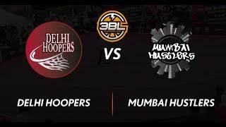 3BL Season 1 Round 5(Bangalore) - Full Game - Day 1 - Delhi Hoopers vs Mumbai Hutslers
