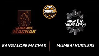 3BL Season 1 Round 5(Bangalore) - Full Game - Day 2(SemiFinal) - Mumbai Hutslers vs Bangalore Machas