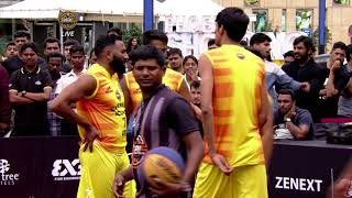 3BL Season 1 Round 5(Bangalore) - Full Game - Day 2(QF) - Hyderabad Ballers vs Chennai Icons