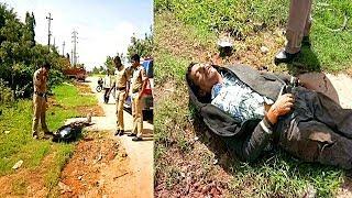 Namaloom Lash Mile Shamshabad Road Par | Police Investigating Going On | @ SACH NEWS |