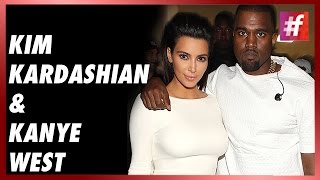 fame hollywood -​​ Kim And Kanye West In A Stylish Wolf Look