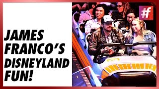 fame hollywood -​​ James Franco Was Spotted At Disneyland For A Friend's Birthday