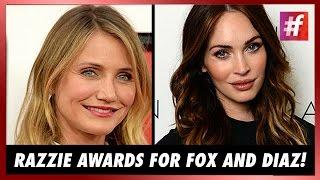 fame hollywood - Megan Fox And Cameron Diaz Walk Away With Razzie Awards