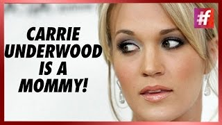 fame hollywood - Carrie Underwood Welcomes Her First Baby