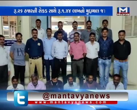Banaskantha - Players playing gambling from Deesa Mahadevia village were arrested