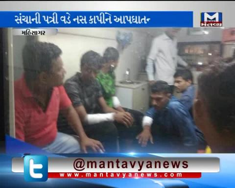 Suicide attempt at the Mehsana zonal observation home