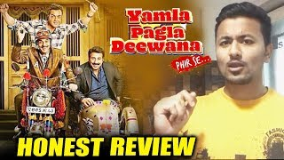 Yamla Pagla Deewana Phir Se | HONEST REVIEW | Dharmendra, Bobby Deol, Sunny Deol